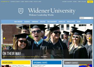 Widener+University Website