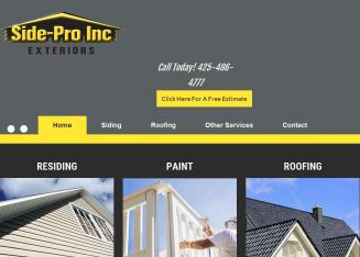 Side-Pro+Inc+-+Siding+Contractors Website
