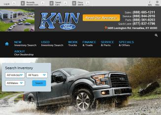 Jack+Kain+Ford Website
