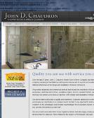 John D Chaudron Shower Door