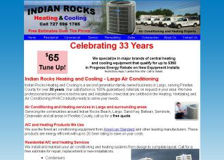Indian+Rocks+Heating+%26+Cooling-A+C Website