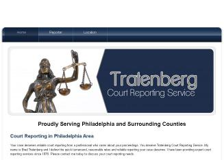 Tratenberg+Court+Reporting+Service Website
