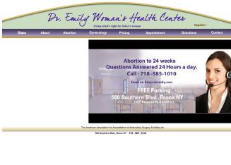 Call+Dr.+Emily+24%2F7+-+Bronx+Abortion+Services Website