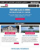 Portland+Glass Website