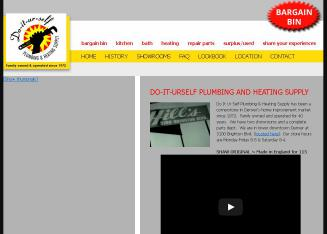 Do-It-Ur-Self+Plumbing+%26+Heating+Supply Website