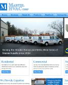 Martel+Hvac Website