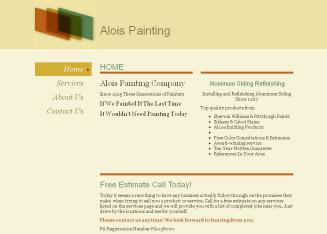 Alois+Painting+%26+Decorating Website