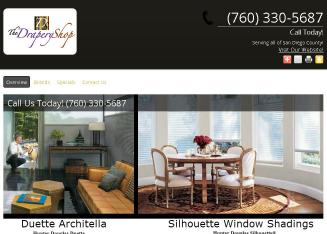 The+Drapery+Shop+Inc Website