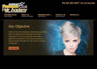 Fashion+Focus+Hair+Academy Website