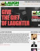 Laugh+Comedy+Club Website