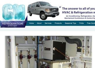 GM+Refrigeration Website
