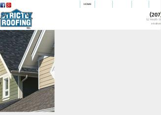 Strictly+Roofing Website