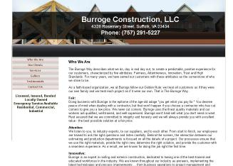 Burroge+Construction%2C+LLC Website