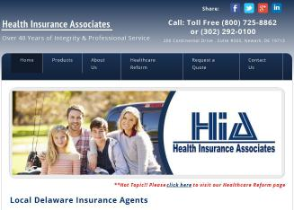 Health+Insurance+Associates Website