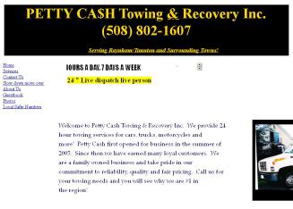 Petty Cash Towing & Recovery Inc