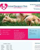 Animal+Emergency+Clinic+of+St.+Petersburg Website