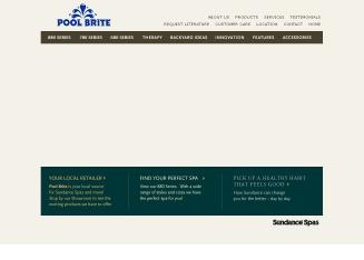 Pool+Brite Website