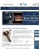 Zeglen+John+M+Attorney Website