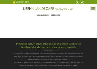 Keehn+Landscaping+Contractors Website