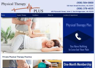 Physical+Therapy+Plus Website