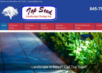 Top+Seed+Landscape+Design+Inc Website