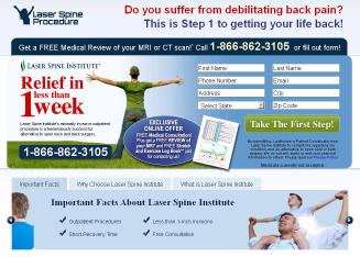 Laser+Spine+Institute%3A+5-Day+Recovery Website