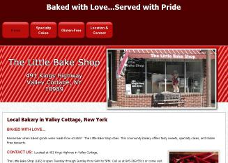 The+Little+Bake+Shop Website