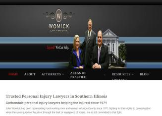 Womick+Law+Firm Website
