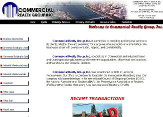 Commercial+Realty+Group+Inc Website