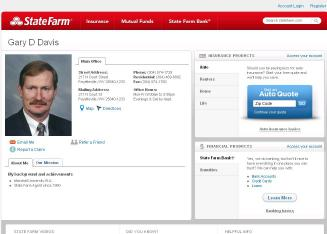 Gary+D+Davis+-+State+Farm+Insurance+Agent Website