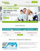 Paycheck+Advance Website