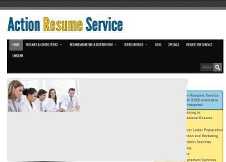 Action+Resume+Service Website