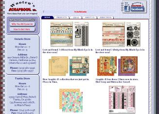 Wooten%27s+Scrapbook+Co. Website