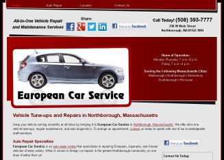 European+Car+Service+Inc Website