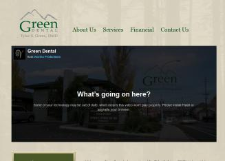 Green Dental-Tyler S. Green DMD-Kelli J. Green RDH