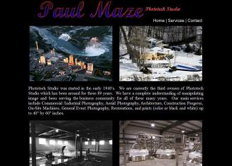Phototech%2FPaul+Maze Website