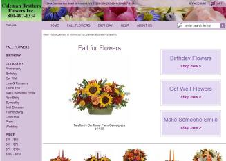 Coleman Bros Flowers Inc