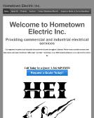 Hometown+Electric Website