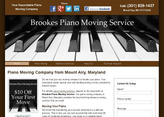 Brookes Local & Long Distance Piano Moving Service