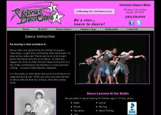 Victoria%27s+Dance+Stars Website