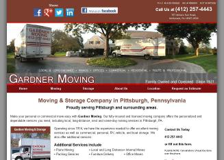 Gardner+Moving Website