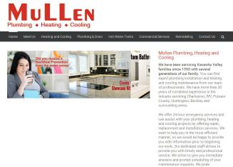 Mullen+Plumbing+Heating+%26+Cooling Website