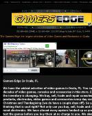 Gamers+Edge+Video+Games+and+Electronics Website