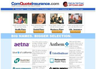 A-1+Affordable+Health Website
