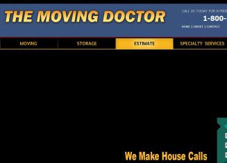The+Moving+Doctor Website