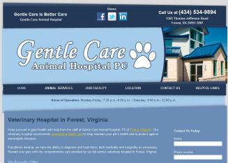 Gentle+Care+Animal+Hospital+PC Website