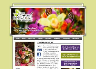Floral+Dimensions+at+Academy+Court Website