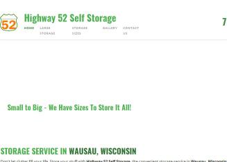Highway+52+Self+Storage Website