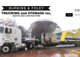 Burkins+%26+Foley+Trucking+%26+Storage+Inc Website