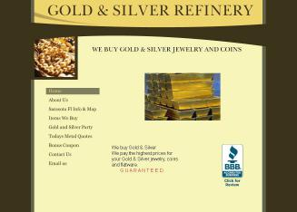 Gold+and+Silver+Refinery Website